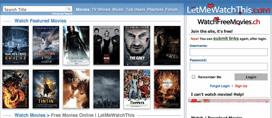 let me watch free movies online